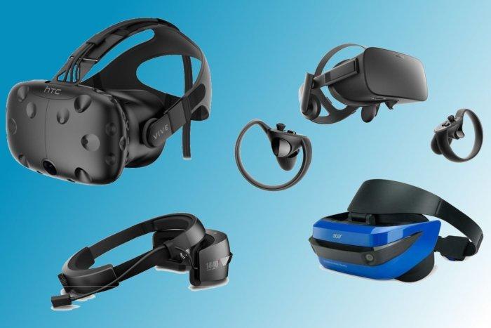 шлемы VR