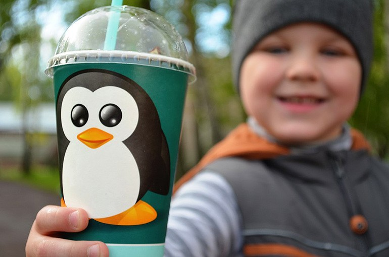 Мороженое «Пингвин»