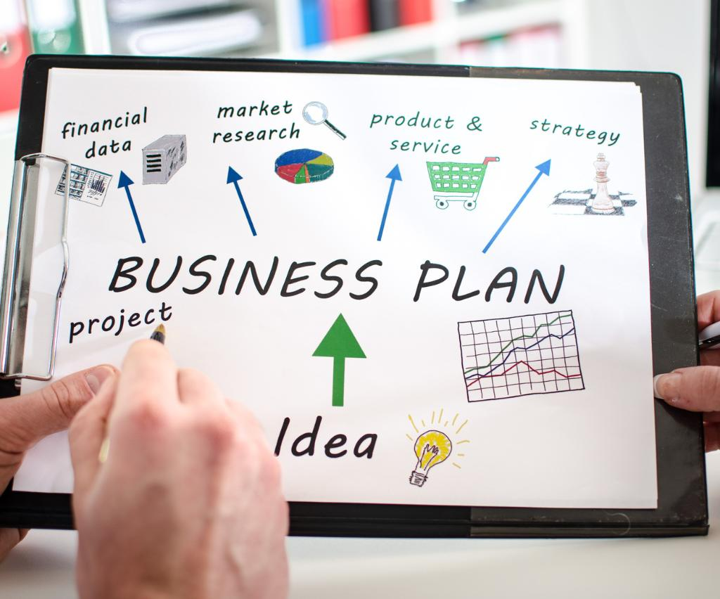Составление бизнес лана